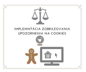 sluzba implementacie zobrazenia upozornenia na cookies