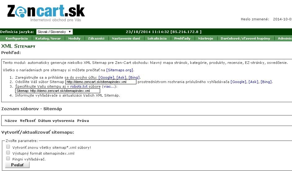google sitemap generovanie xml súborov pre google google sitemap